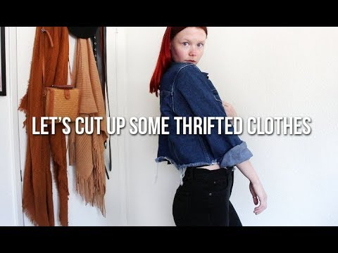 THRIFT FLIP | shorts, mom jeans, crop tops & more! 8