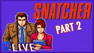 Snatcher (Sega CD) PART 2   SSFF Live