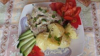 Тушеное Мясо  с картошкой в мультиварке  рецепт