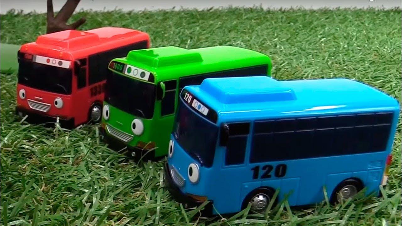 Тайо маленький автобус. Видео для детей. Диди ТВ - YouTube