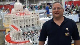 14-foot-long LEGO Vatican St. Peter