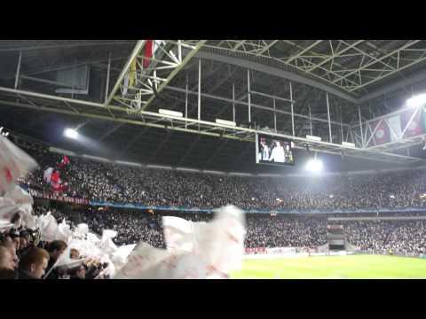 AFC Ajax - Chorus of the Hebrew Slaves vlaggetjes