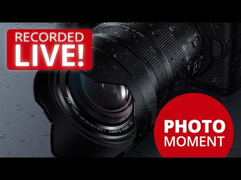 Panasonic LUMIX Leica 12-60mm Lens FIRMWARE UPDATE with Optical Image Stabilization LIVE Demo on GH5