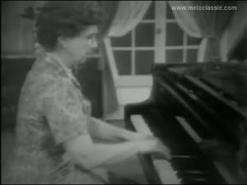 "Magda Tagliaferro  plays Falla - Danza No.1 from ""La vida breve"""