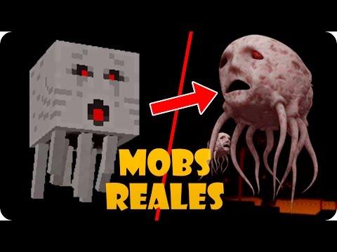 MOBS DE MINECRAFT EN LA VIDA REAL (INCREIBLE) - Видео из Майнкрафт (Minecraft)