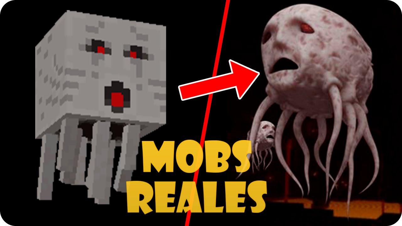 Mobs de minecraft en la vida real increible youtube for Videos de minecraft en la vida real