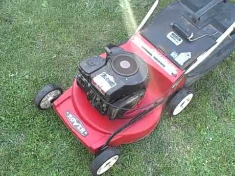 4 stroke rover lawn mower youtube rh youtube com rover lawn mower parts perth rover lawn mower parts