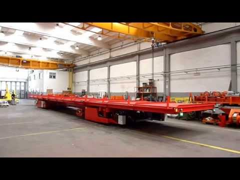 Morello - Battery multidirectional trailer with lifting and tilting deck for pipes handling - 12t
