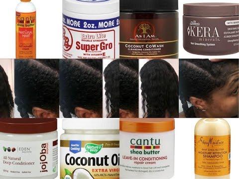 natural hair products. transitioning