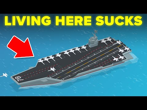 Why Living On An Aircraft Carrier Sucks