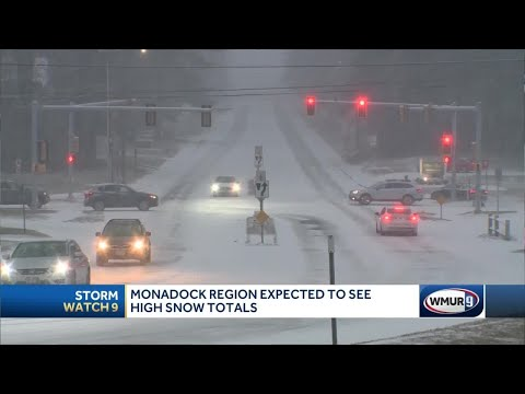 Heavy Snow Expected To Pile High In NH