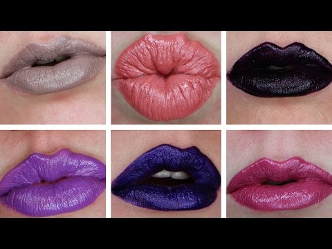OCC RTW Lip Tar Live Swatches | ALL 25  Colors