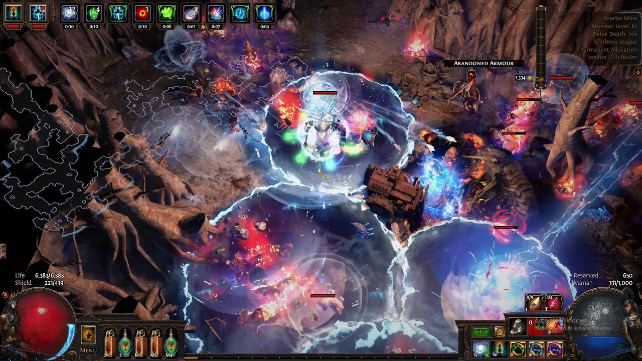winter orb 3 6 eternity shroud build path of exile youtube. Black Bedroom Furniture Sets. Home Design Ideas