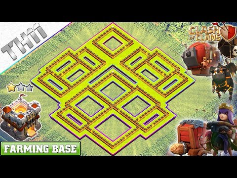 New TH11 Base 2018 | Town Hall 11 Farming/Trophy Defense Base – Clash Of Clans 2018