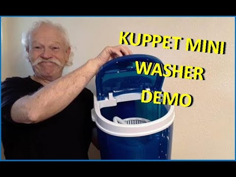 kuppet-demo-8lb-cap-💦-portable-mini-washing-machine-&-spin-dryer