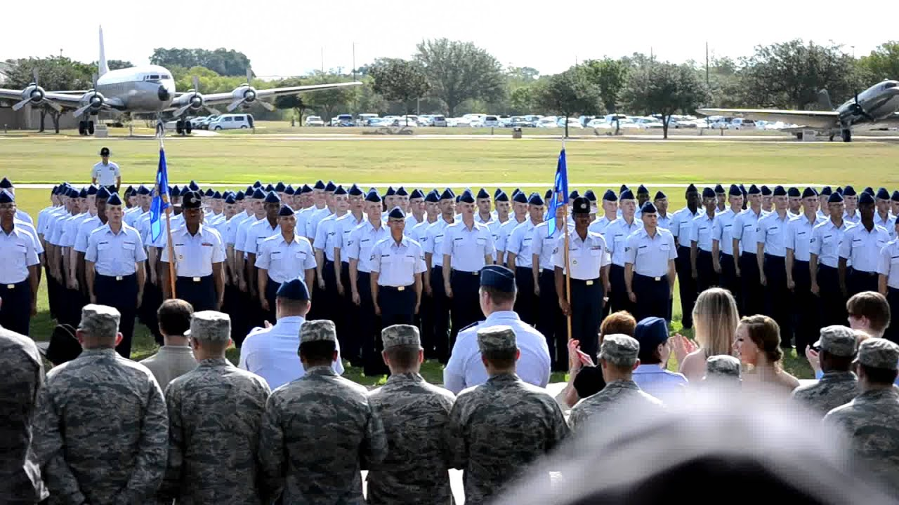 Air force graduation lackland afb 7 29 2011 youtube for 182 30 wexford terrace jamaica estates