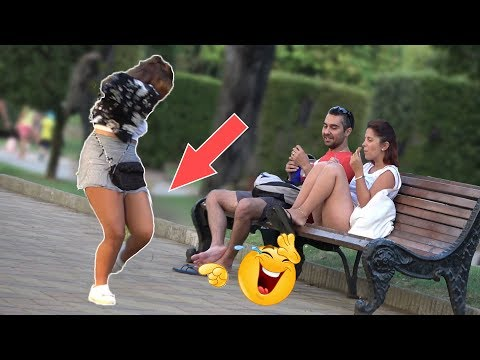 Tripping Over Nothing Prank- AWESOME REACTIONS -Best of Just For Laughs