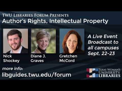 Know Your Rights: Texas Woman's University Library Forum