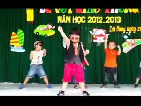 Học sinh mầm non nhảy_ Gangnam Style  —  Cực Đỉnh. – MN Ngôi sao _Cần Thơ