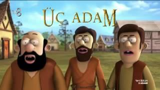 Fırıldak Ailesinin Ses Aktörleri 3 Adam'da! l 3 Adam