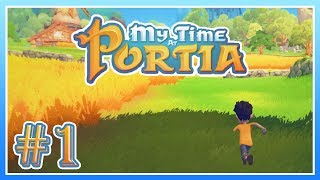 My Time at Portia - #1 - Our Very Own Workshop! (Alpha Gameplay)