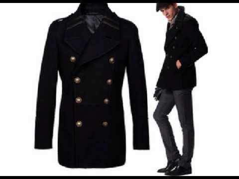 Mens Pea Coat Trends Cheap Pea Coat online Sale - YouTube