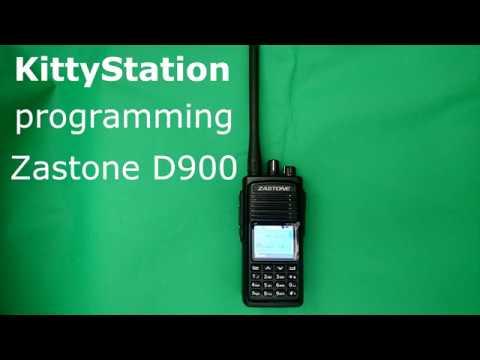 Программирование Zastone D900 // Programming Zastone D900