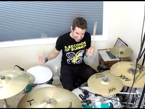 5 Seconds of Summer - Hey Everybody! (NEW SONG 2015) - Drum Cover - Studio Quality (HD)