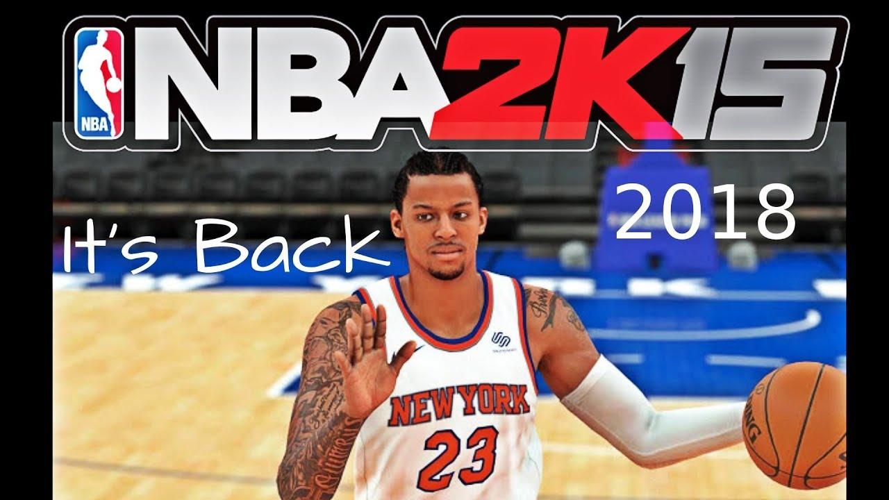 NBA 2K15 {2018}It's Back Newest Look Update | Knicks Vs Hornets