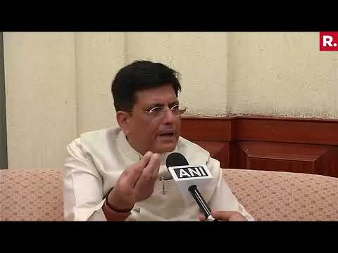 Piyush Goyal Responds To A Question On Yashwant Sinha's Article