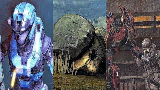 Halo Reach - All Noble Team Deaths Scenes (4K 60FPS)