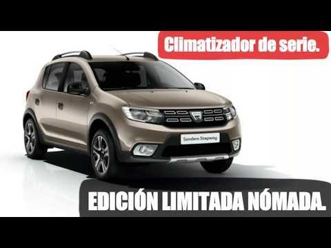 Edición limitada DACIA NÓMADA. Climatizador de serie.