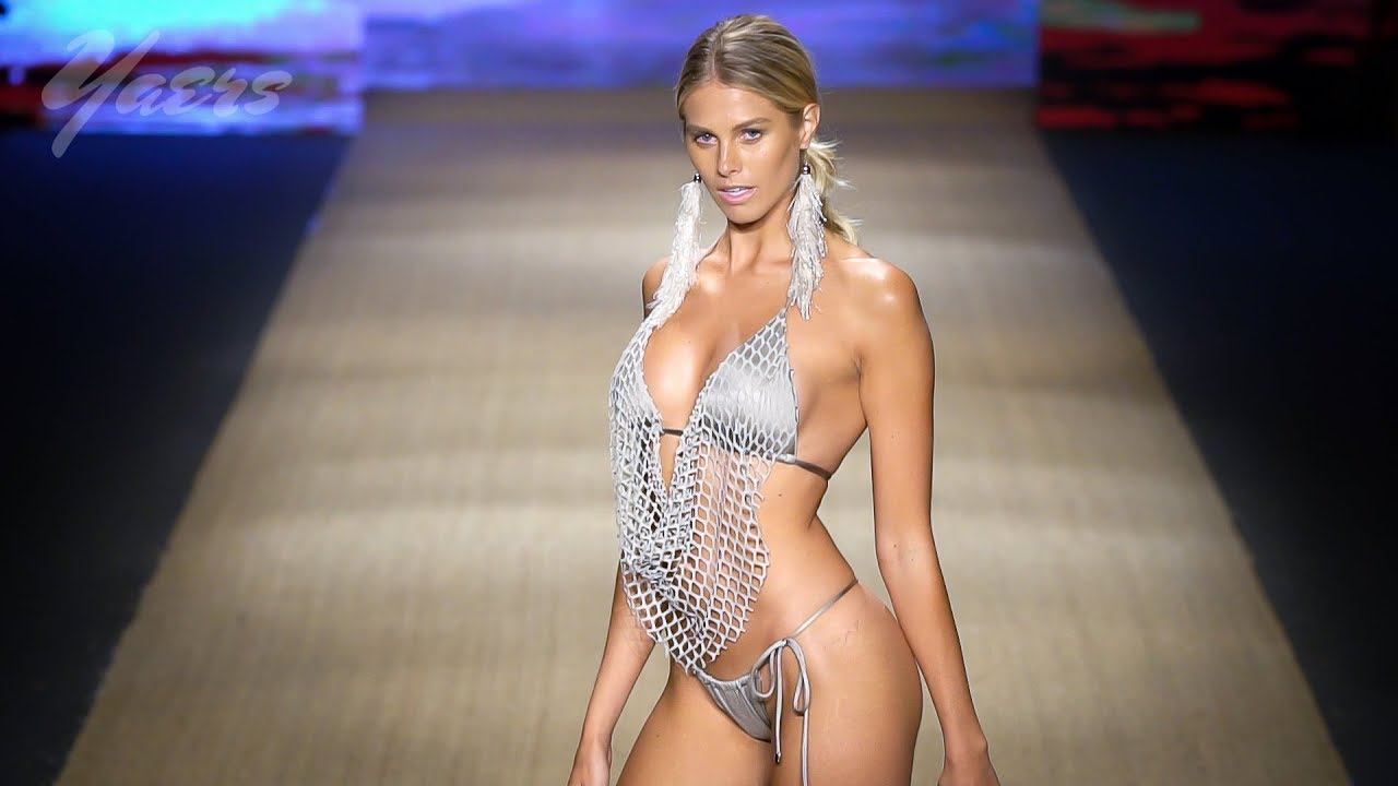1febd3a8150a3 Aguaclara Swimwear Fashion Show SS 2019 Miami Swim Week 2018 Paraiso Fashion  Fair Fashion Week