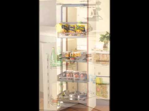 Tall units for modular kitchen youtube for Kitchen tall unit design