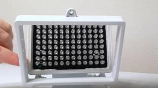 Red light therapy tweaks for large Aweek 96 LED illuminators