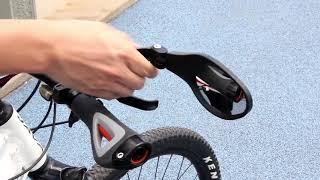 Hafny Unbreakable Rotatable Bike Mirror Rearview