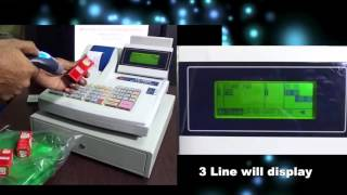 The ultima is a very user friendly billing machine.