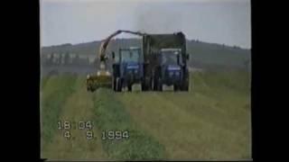 Silage Harvesting in 1994 Leyland 2100 272 Marshall 802 - johnwandersonagain