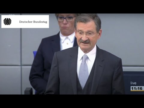 The German Bundestag: New President of the Bundestag elected