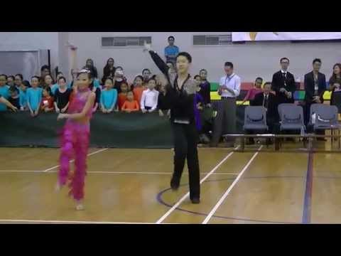 Showcase Jive at National Dancesport Competition 2015