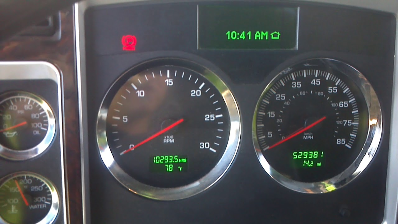 Kenworth T660 Check Engine Light Youtube