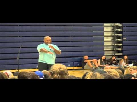 Keith Hawkins Motivational Speech at Carlmont High