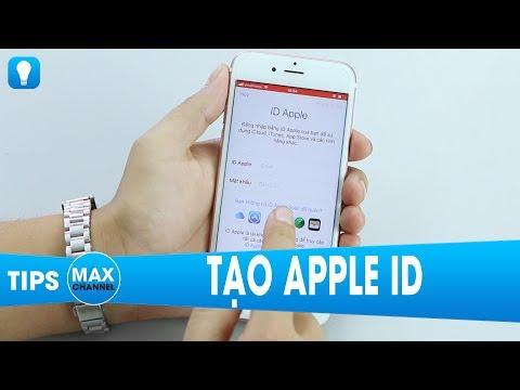 Tạo Apple ID trong 4 phút không cần thẻ Visa, MasterCard và Gmail...