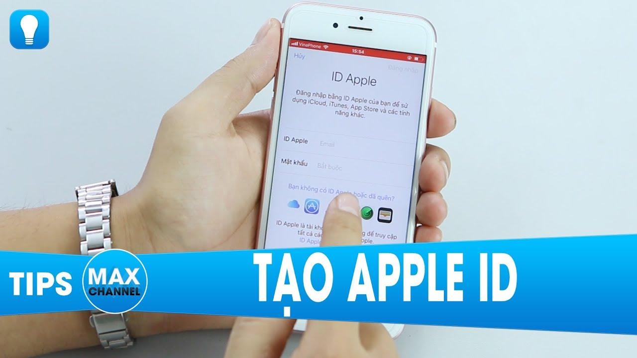 Tạo Apple ID trong 4 phút không cần thẻ Visa, MasterCard và Gmail…
