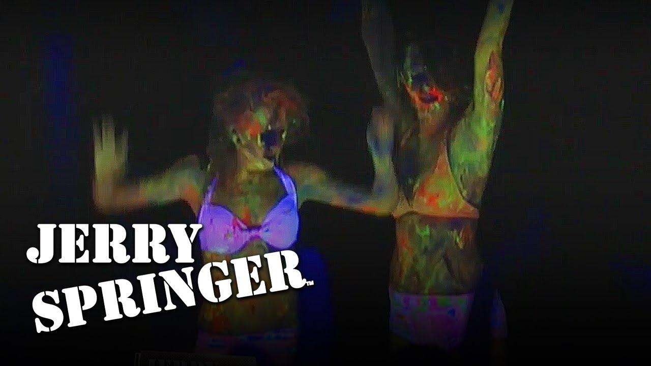 Rave Girls Wrestle | Jerry Springer