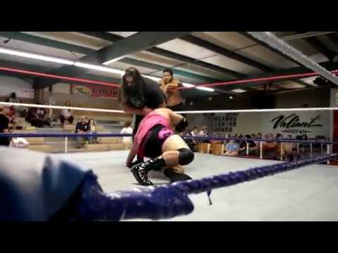 ASWF June 2nd, 2018 Wrestling for Tia Steve-O vs Mark Wolf and Curtis Dawn