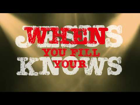 "Bobby Bones & The Raging Idiots - ""Jesus Knows"" Lyric Video"