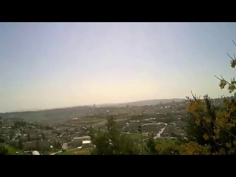Jerusalem - From Hebrew University Mount Scopus campus - View to West 4 - March 7 2016