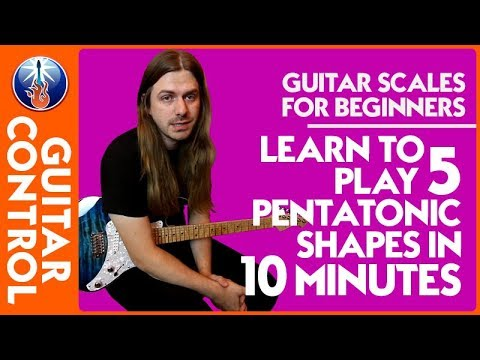 how to play guitar scales for beginners