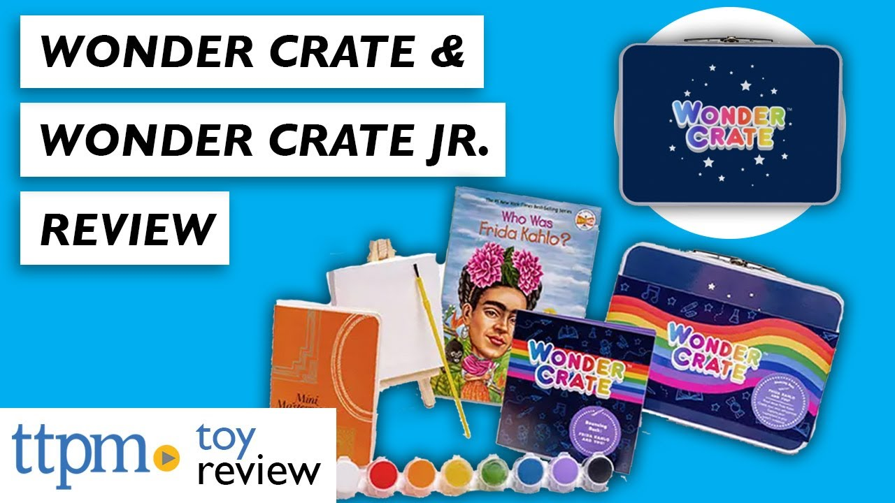 Wonder Crate and Wonder Crate Jr. from Wonder Crate